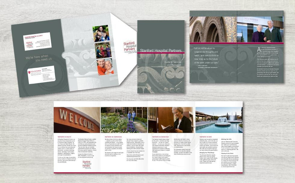 stanford donor guidebook | Plush Design